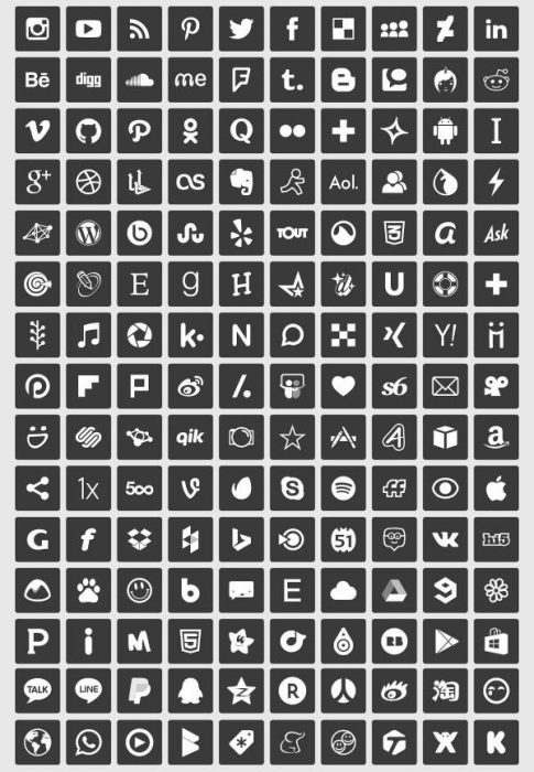 150-Simple-Free-Vector-Social-Media-Icons-2 (Custom)