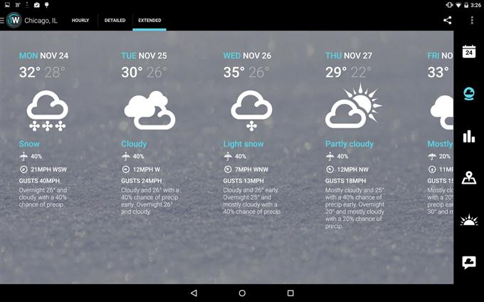 1Weather Widget Forecast Radar (Custom)