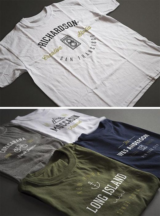 2 Photorealistic T-Shirt Mock-ups (Custom)