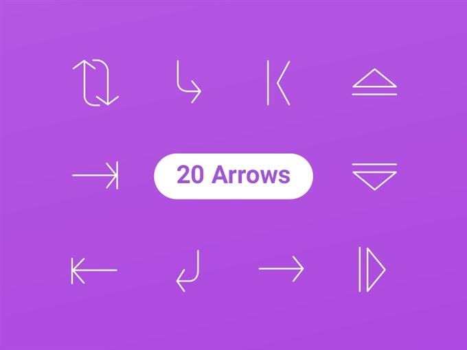 20 Free Arrow Icons by Creative Tail (Custom)