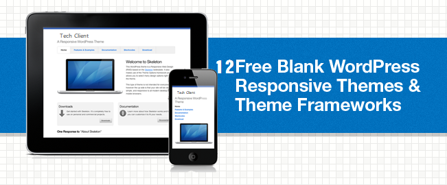 12 Best Free Blank WordPress Themes Of This Year