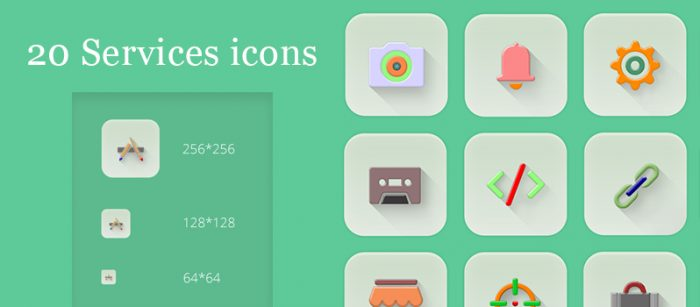 20 Services Icons