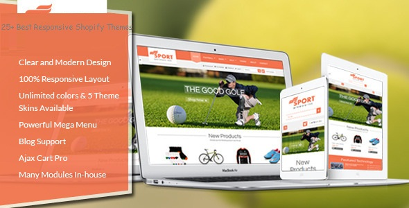 25+ Best Responsive Shopify Themes
