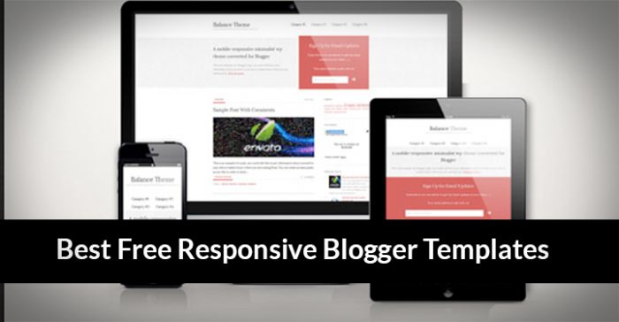 80 Best Free Blogger Templates Of This Year
