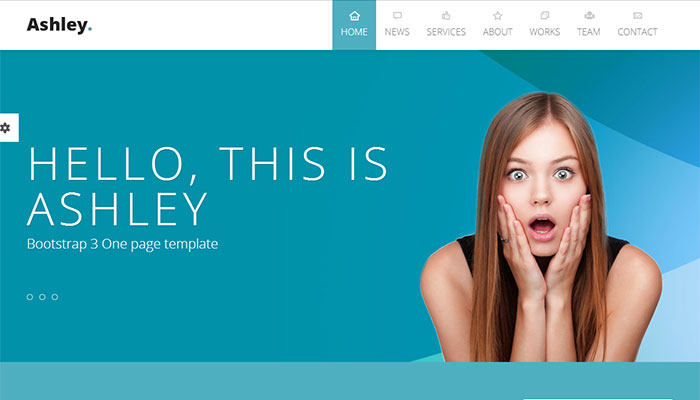Ashley - Premium Bootstrap Templates