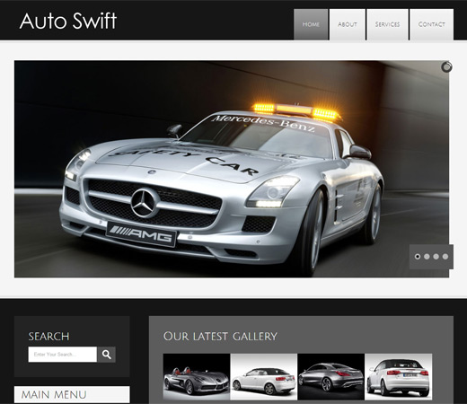 AutoSwift Ecommerce Responsive web Template