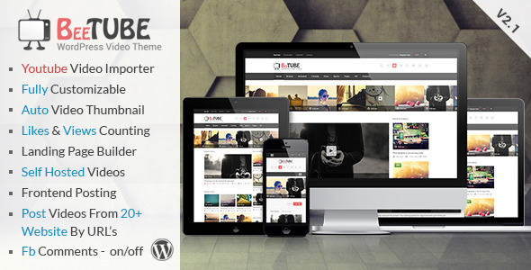 BeeTube-Video-WordPress-Theme