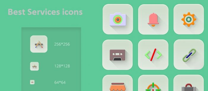 3 Best Services icons Sets