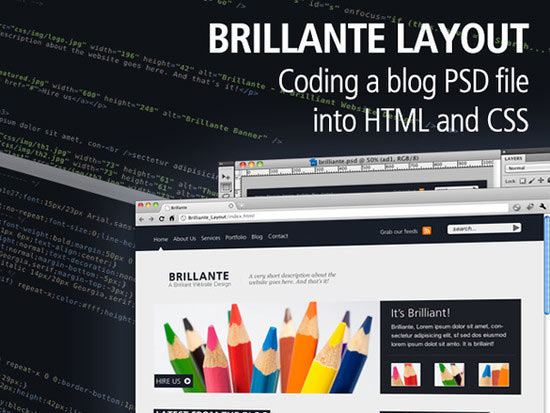 Coding The PSD File Into CSS and HTML