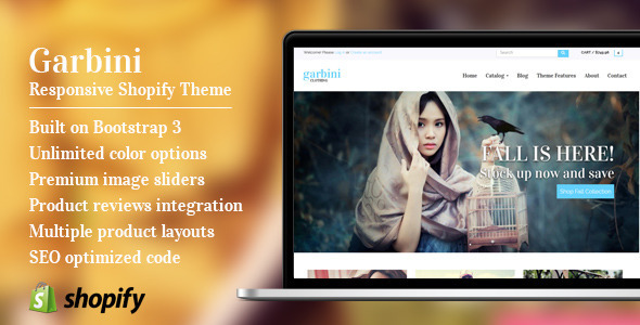 Garbini - Flexible Responsive Shopify Theme