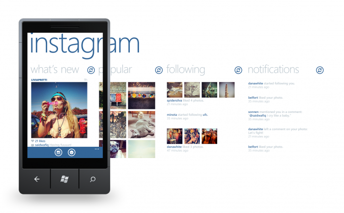 Instagram Beta Windows Phone App