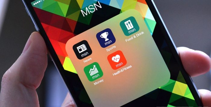 MSN News Windows Phone App