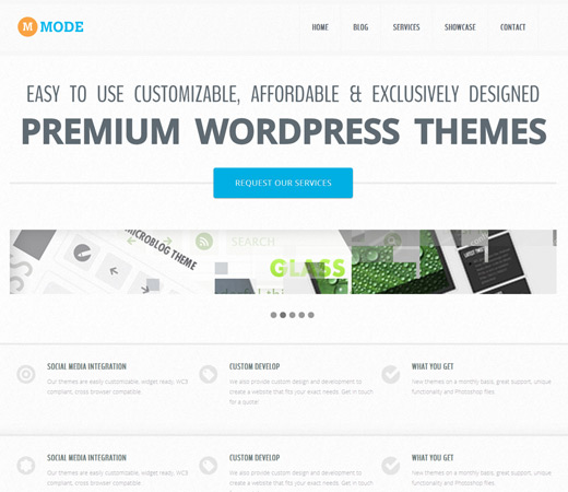 Mode Blogging Responsive Template