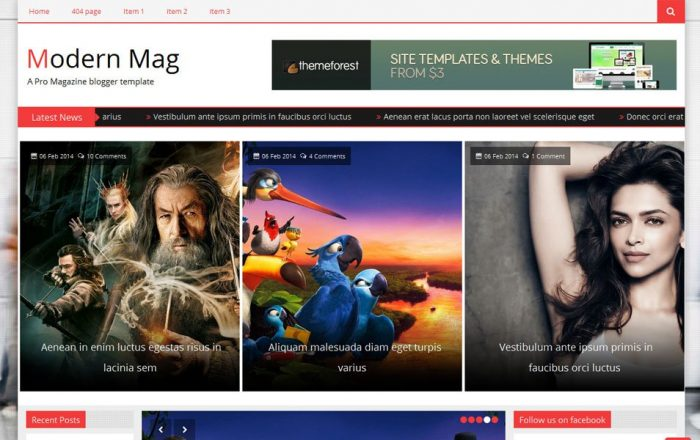 Modern-Mag-Responsive-Blogger-Template