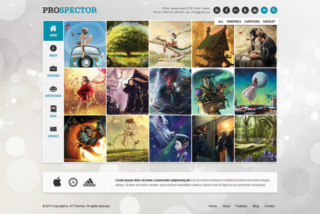 Prospector WordPress Portfolio Themes