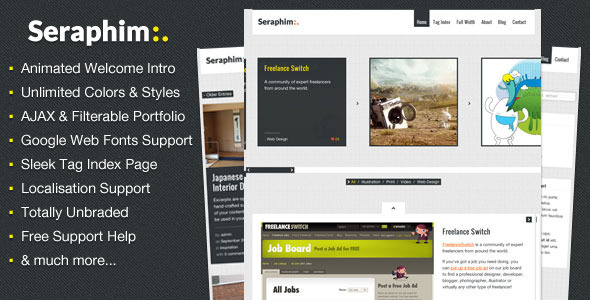 Seraphim-AJAX-and-Animated-Portfolio-Theme
