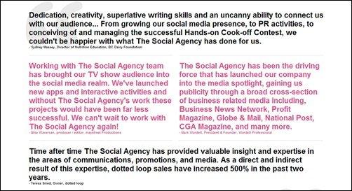 The Social Agency