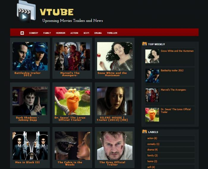 26 Best Free Video Blogger Template Like Youtube - TechClient