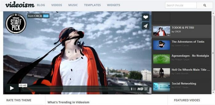 Videoism Blogger Template (Small)