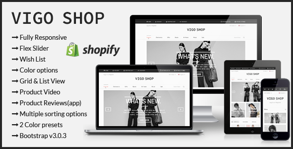 25 best responsive shopify themes techclient vigo shop responsive shopify theme pronofoot35fo Images