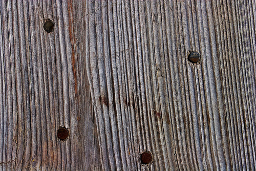 Wood Texture with Nails