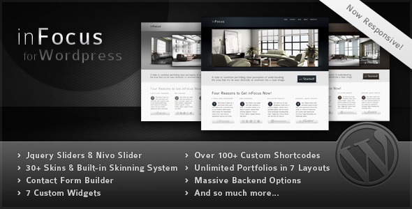 inFocus – Powerful Professional WordPress Theme
