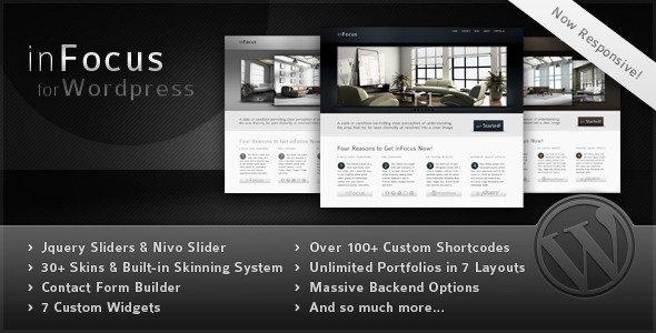 inFocus – Powerful Professional WordPress Theme