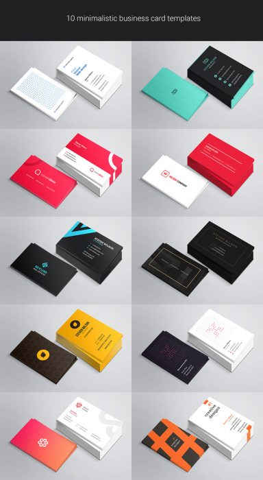130 best free psd business card templates techclient 10 free business card mockup psds accmission Images