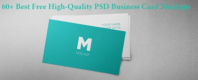 60+ Best Free High-Quality PSD Business Card Mockups