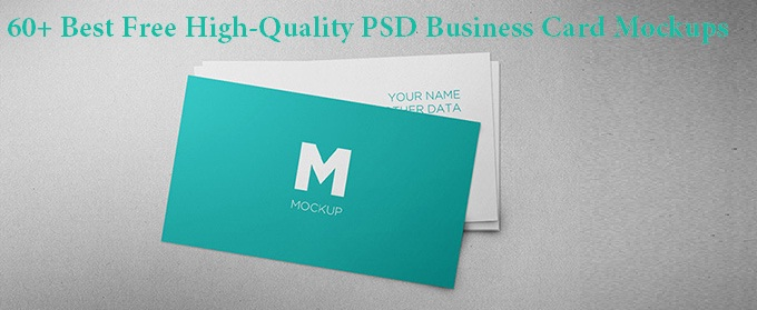 60 best free high quality psd business card mockups techclient reheart Gallery