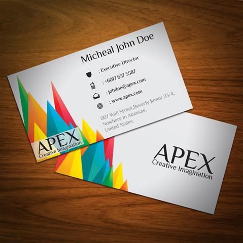 Apex Business Card (Small)