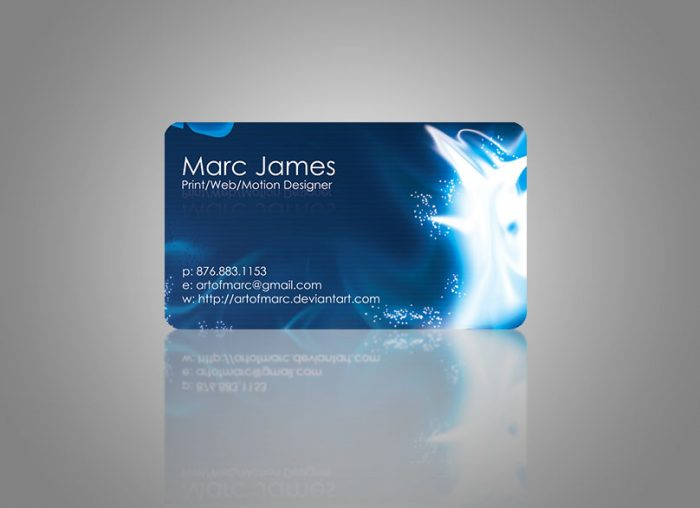 Art of Marc - Business Card 1