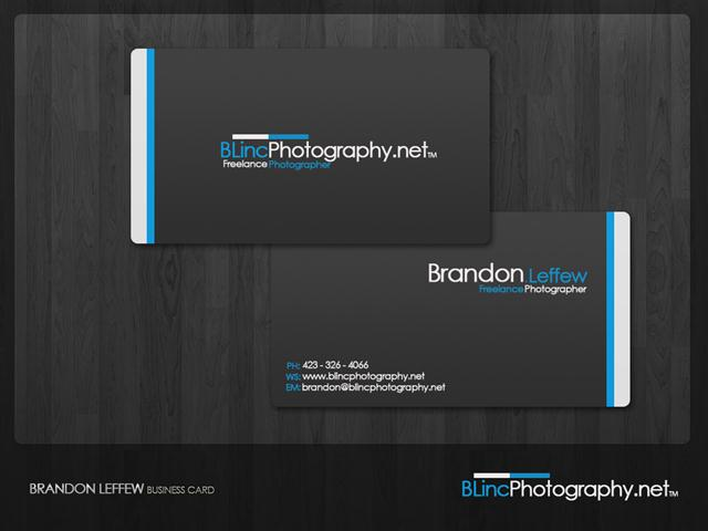 BLincPhotography Business Card (Small)