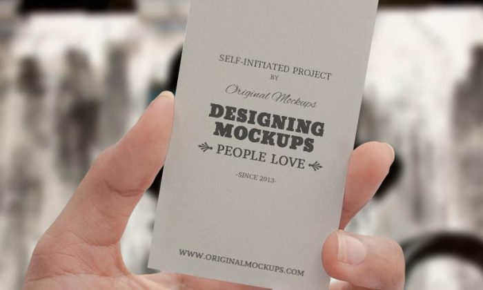 60 best free high quality psd business card mockups techclient business card hand mockup reheart Gallery
