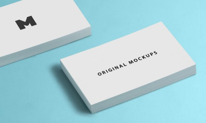 60 best free high quality psd business card mockups for Business card online free