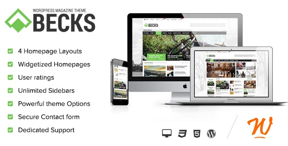 Becks - WordPress News and Magazine Theme