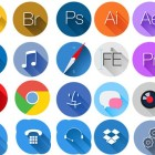 Best Free Flat Icons with Long Shadow
