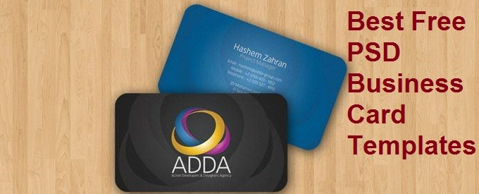 Best Free PSD Business Card Templates