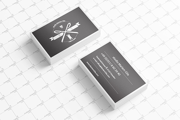 Business Card Presentation Mock-up Template