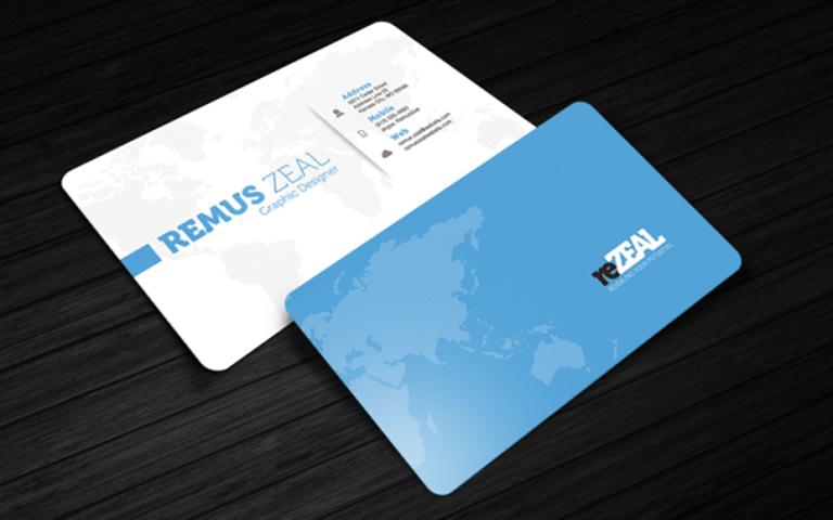 Business Card Template – reZEAL (Small)
