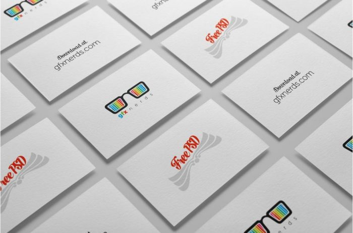 60+ Best Free High-Quality PSD Business Card Mockups ...