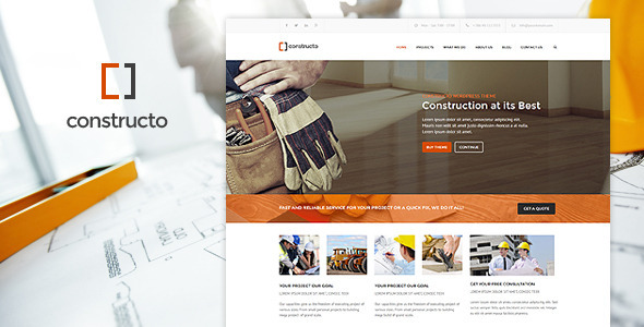 Constructo - WP Construction Business Theme