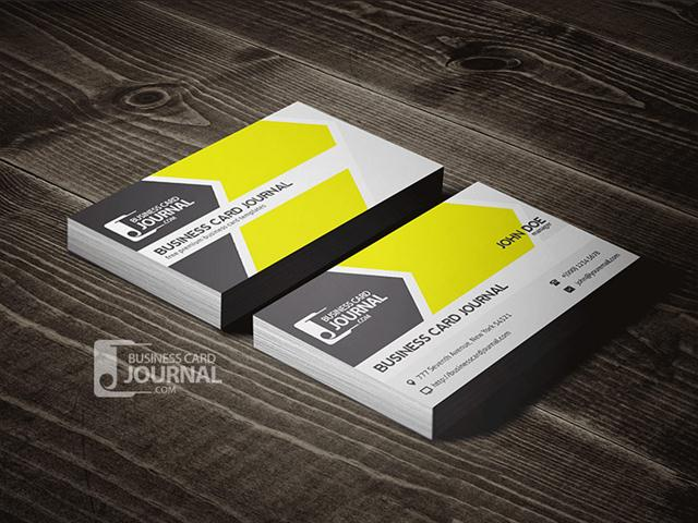 Cool & Refreshing Business Card Template (Small)