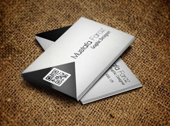 Corporate Business Card (Small)