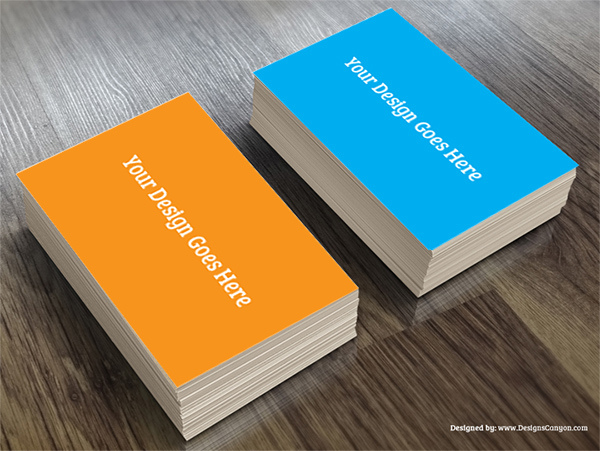Creative PSD Business Card Mock-up