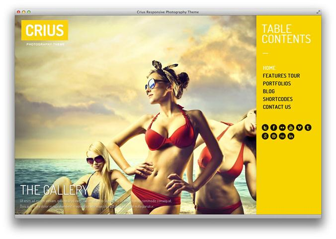 Crius Responsive Photography Creative Portfolio (Small)