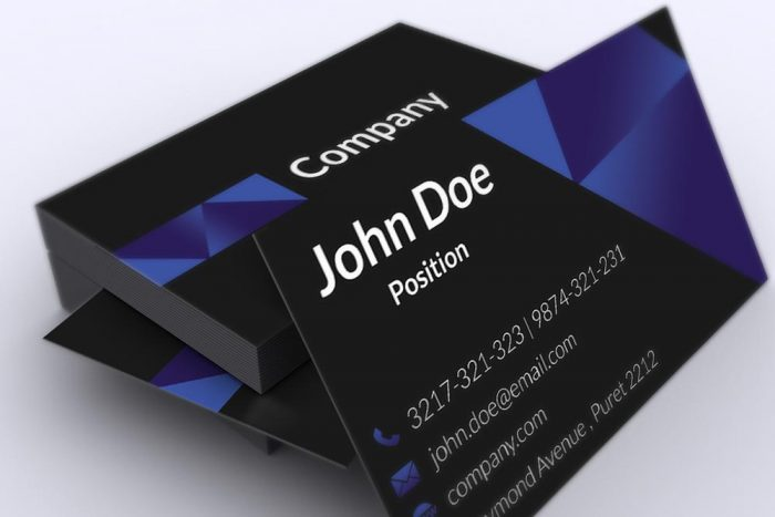 130 best free psd business card templates techclient dark corporate business card template download flashek Image collections