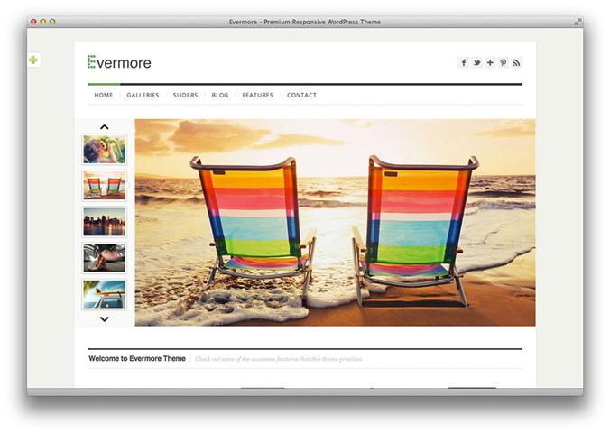 Evermore – Premium Responsive WordPress Theme (Small)