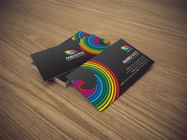 Fabulous business card (Small)