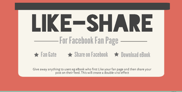 Facebook Like, Share and Download Pro